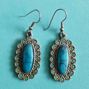 Southwestern Indian Turquoise earrings